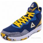 PEAK Basketball Shoes E53151A Dk.Blue/Yellow
