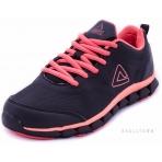 PEAK Running Shoes E54518H Black/Bright Apricot Pink