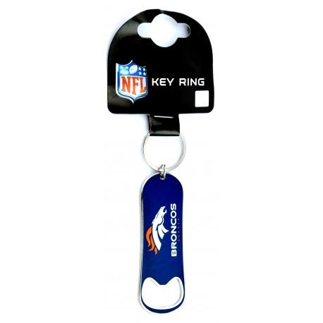 Forever Collectibles NFL Bottle Opener Keyring Denver Broncos