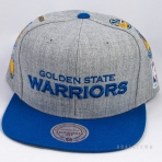 Mitchell & Ness Team Logo History Golden State Warriors Grey/Royal