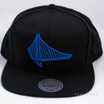 Mitchell & Ness Elements Snapback Golden State Warriors Black