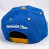 Mitchell & Ness Greytist Snapback Golden State Warriors Blue / Grey