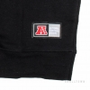 Majestic Gypso Cut&Sew Crew Sweat Charcoal Oakland Raiders