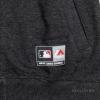 Majestic Emodin Fleece Letterman Jacket Charcoal New York Yankees