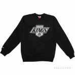 Mitchell & Ness Team Logo Crew La Kings Black