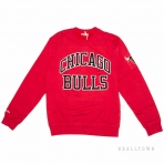 Mitchell & Ness Nba Start Of The Season Crew Chicago Bulls Red