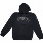 Mitchell & Ness Nba Bank Shot Hoody Brooklyn Nets Black