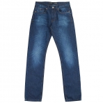 ROCA WEAR DENIM RELAX FIT MID BLUE