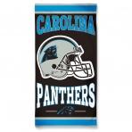 McArthur Fibre Beach Towel Carolina Panthers