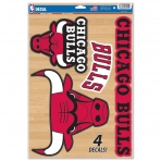 Wincraft Multi Use Decal-Set Chicago Bulls