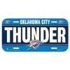 Wincraft License Plate Oklahoma City Thunder