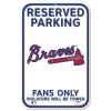 Wincraft Plastic Sign Atlanta Braves
