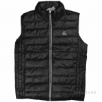 PEAK COTTON-PADDED WAISTCOAT( CORE PRODUCTS) F454017 BLACK