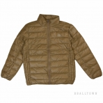 PEAK THIN PADDING JACKET(CORE PRODUCTS) F554017 CAMEL