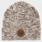 Wrung Beanie Hudson Heather Beige
