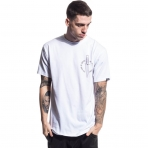 Grimey Ten Stab Wounds Tee White