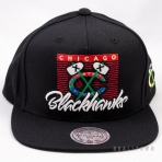 Mitchell & Ness Easy Three Digital Snapback NHL Chicago Blackhawks