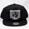 Mitchell & Ness Easy Three Digital Snapback NBA Brooklyn Nets