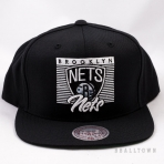 Mitchell & Ness Easy Three Digital Snapback NBA Brooklyn Nets