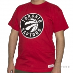 Mitchell & Ness Black And White Logo Traditional NBA Toronto Raptors