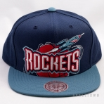 Mitchell & Ness Cropped XL Logo Snapback NBA Houston Rockets