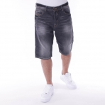 Pelle Pelle Buster Denim Short Black Storm