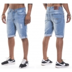 Roca Wear Relax Short Fit Light Wash Destroyed