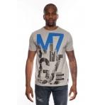 MZGZ tričko Thecross šedé