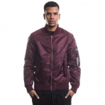 South Pole Spring Bomber Burgundy