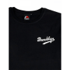 Majestic Tovey Mid Longline Logo Carrier Tee Brooklyn Dodgers Black
