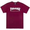 Thrasher Magazine Skate Mag T-Shirt Maroon