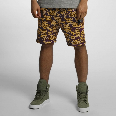 Ecko Unltd. Allover Shorts Purple