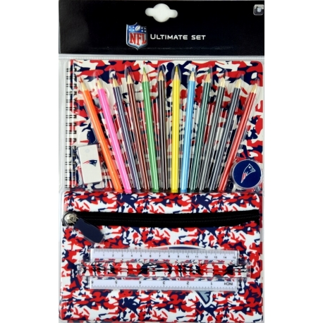 Sideline Collectibles NFL Camo Core Stationery Set New England Patriots