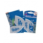 Sideline Collectibles MLB 11 - Piece Stationery Set Los Angeles Dodgers