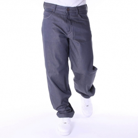 Pelle Pelle Baxter Baggy Denim Pant - Raw Grey
