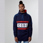 Cayler & Sons BL Good Day Half Zip Hoody - Navy