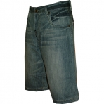 VOKAL SHORT JEANS - blue