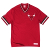 Mitchell & Ness Overtime Win Vintage Tee 2.0 Chicago Bulls Red