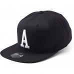 State Of Wow Šiltovka Alpha Soft Baseball Cap - Black/White - Strapback