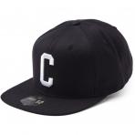 State Of Wow Šiltovka Charlie Soft Baseball Cap - Black/White - Strapback