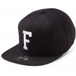 State Of Wow Šiltovka Foxtrot Soft Baseball Cap - Black/White - Strapback