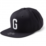 State Of Wow Šiltovka Golf Soft Baseball Cap - Black/White - Strapback