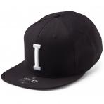 State Of Wow Šiltovka India Soft Baseball Cap - Black/White - Strapback