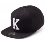 State Of Wow Šiltovka Kilo Soft Baseball Cap - Black/White - Strapback