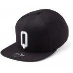 State Of Wow Šiltovka Quebec Soft Baseball Cap - Black/White - Strapback
