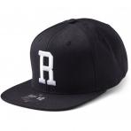 State Of Wow Šiltovka Romeo Soft Baseball Cap - Black/White - Strapback