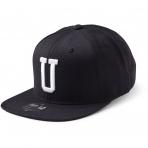 State Of Wow Šiltovka Uniform Soft Baseball Cap - Black/White - Strapback