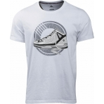 Peak Tony Parker Round Neck T-Shirt WHITE