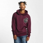 Rocawear Retro Basic Hoody Burgundy