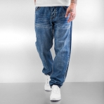 ROCA WEAR DENIM PANT TAPERED LOOSE FIT JERSEY WASH